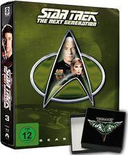 STAR TREK: THE NEXT GENERATION, Season 3 (6 Blu-ray Discs, Steelbook + Pin) NEU+