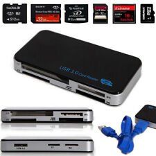 All-in-1 USB 3.0 Compact Flash Multi Memory Card Reader CF Adapter MicroSD MS XD