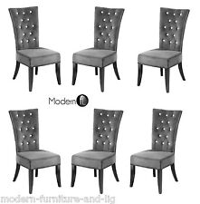 Faux Suede Dining Room Chairs Ebay