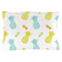 CafePress Colorful Pineapples Pattern Pillow Case (1501875104)