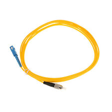3Meter SC to FC Single Mode Simplex Fiber Optic Jumper Electric Cable Yellow