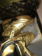 Patrick Ewing 33 Teyana Taylor GOLD(EXCLUSIVE)Basketball Shoes! Size 9.5 $315.00