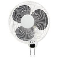 """Lorell Wall Mount Fan - 16"""" Diameter - 3 Speed - Adjustable Tilt Head,"""