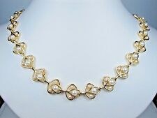 """Pearls - 18"""" length 1177 Rachel Gold Plated Necklace with"""