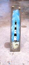 Slat Wall art, Bodie NC Lighthouse Nautical decor beach art lighthouses