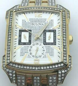 Bulova Men's Watch Crystals Collection 98C109