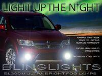 Xenon Halogen Fog Lamps Lights Lamp Light Kit for 2009-2011 Dodge Journey