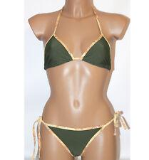 Prima Classe Costume due pezzi verde militare bikini Alviero Martini  L original