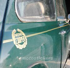 Mini Cooper Classic  stripes - profili adesivi per fiancate Austin Rover Morris