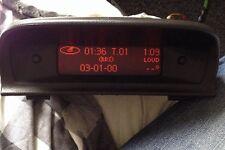 PEUGEOT 307 Orologio Digitale Display