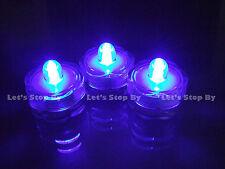 12 Blue LED SUBMERSIBLE Wedding Waterproof  Floralytes Decoration Tea Light