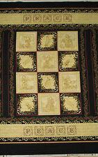 Choir of Angels Musical Religious PEACE Benartex Christmas Fabric 23