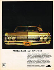 Vintage 1967 Magazine Ad Chevrolet Everything New That Could Happen....Happened
