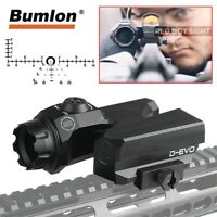D-EVO RifleScope Dual Enhance CMR-W-Reticle Matt Dot Sight magnifier for Hunting