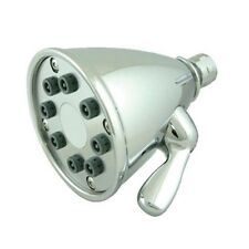Whitehaus Wh139-C Showerhaus Round Showerhead With 8 Spray Jets- Polished Chrome