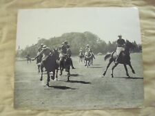 Original Foto De Prensa Polo Windsor Park V la India para los visitantes Copa Windsor 26.5.57