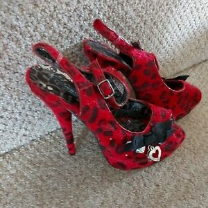 Goth.iron Fist Gorgeous Shoes.brand New Size 7
