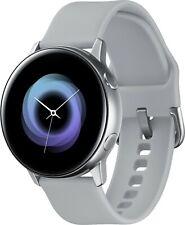 Samsung Galaxy Watch Active Smartwatch 40mm Aluminum SM-R500NZSAXAR - Silver