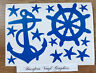 Wall Art Nautical / Anchor / Ships Wheel / Pirate Vinyl Stickers - Choice of 3
