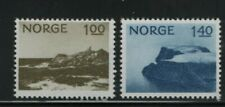Norway Stamps 1974 Sg 714-715 Tourism - Lindesnes and Nordkapp Mounted Mint