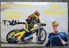 Foto m.Orig.AG Till Schlimm GER Grasbahn / Speedway Weltklasse Rarität!