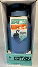 Manna Convoy 64OZ Double Wall 18/8 Stainless Steel Water Bottle - Blue - NIB