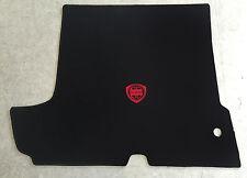 Autoteppich Kofferraummatte für Lancia Fulvia Coupe 1teilig schwarz rot Neuware