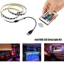 LED TV USB Backlight Kit Computer RGB LED Light Strip TV Background Lights 1M-5M