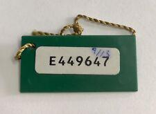 ROLEX Green Tag Hangtag E449647 1991 Daytona Zenith El Primero 16520 GMT 16750