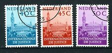 NEDERLAND D41/43 gestempeld 1977 - Aanvullingswaarden Vredespaleis