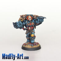 Space Wolves Wolf Guard Battle Leader PRO5 painted metal MadFly-Art