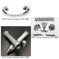 Rail Grab Bar/Fairing Bolt/hand grips for 99-07 SUZUKI Hayabusa GSX1300R