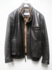 MARC JACOBS LEATHER JACKET REMOVABLE COLLAR  SIZE XL NEW