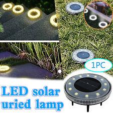 Solar Ground Lights 12LED Waterproof Solar Powered Garden Light Outdoor Landscap
