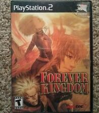 Forever Kingdom (Sony PlayStation 2, 2002) PS2 With Case TESTED