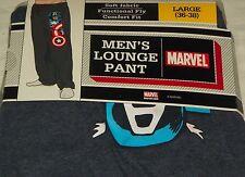 """NEW"" Marvel CAPTAIN AMERICA ~ Lounge / Sleep PANTS ~ Mens Sz L 36/38 Pajamas"