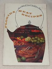 1961 Florida Meat Recipes Duck Lamb Chops Stew Ribs Veal Game Cook Book Booklet