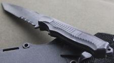 1:1 Rubber Fighting Training Fixed Knife W Sheath