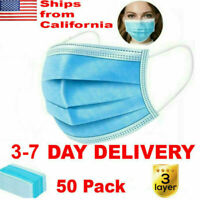 SALE!!! 50PCS Premium Quality Face Mask Respirator Great Protection FDA CE R1