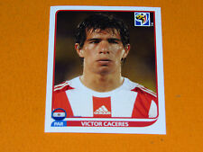 442 VICTOR CACERES PARAGUAY PANINI FOOTBALL FIFA WORLD CUP 2010  COUPE DU MONDE