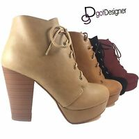 NEW Women's Shoes Military Combat Boots Mid Calf Riding Lace Up Buckle Zipper