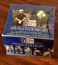1992 Pro Set PGA Tour Golf Trading Trading Card Factory Sealed Box 36 Packs (# 81793)