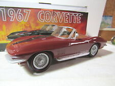 IAJBBSC Maroon 1967 Corvette 427 Convertible Decanter Never Displayed Only 50