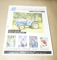 Long Agribusiness Framtrac Tractor 330 HST & 390 HST Owner's Manual P/N 906766