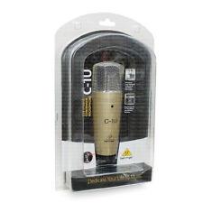 Behringer C1U USB Studio Condenser Microphone Large Diaphragm Mic C-1U