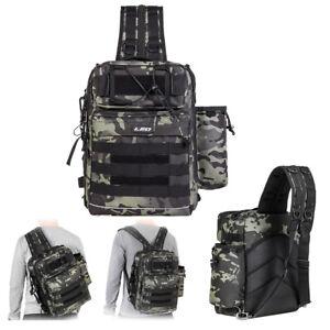 Outdoor Fishing Tackle Backpack Storage Bag Waterproof Outdoor Shoulder Backpack