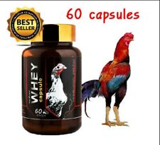 Thai Popular Supplement  Rooster Pigeon Para Gallos Thunder Whey Protein Capsule