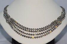 $180,000 40.06CT NATURAL DIAMOND CLUSTER NECKLACE VS PLATINUM