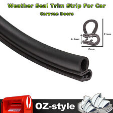 3M Pinch Weld Rubber Seal Strip Trim Car Truck Doors Trunk Hood Edge Protector