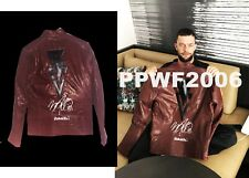 WWE FINN BALOR RING WORN HAND SIGNED AUTOGRAPHED ROYAL RUMBLE JACKET WITH PROOF
